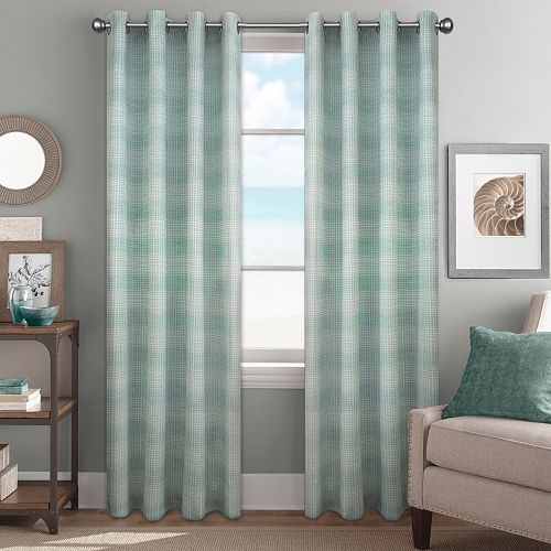 Colordrift 1-Panel River Rock Window Curtain