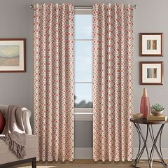 Colordrift Blackout 1-Panel Inner Circle Window Curtain
