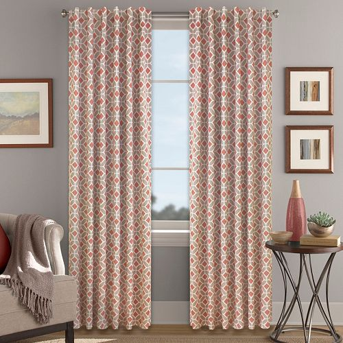 Colordrift Inner Circle Blackout Window Curtain