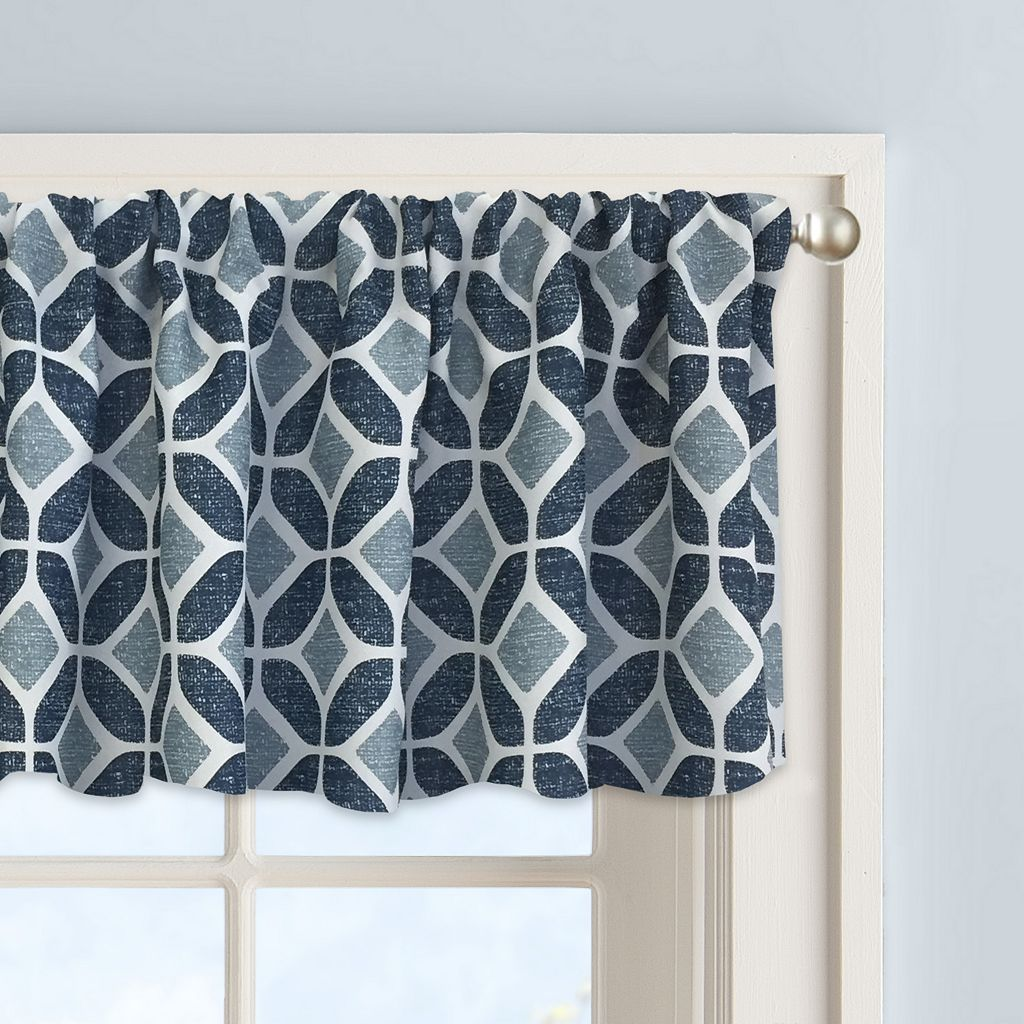 Colordrift Inner Circle Window Valance - 60'' x 14''