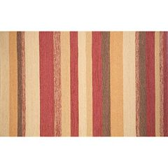 Liora Manne Ravella Striped Indoor Outdoor Rug