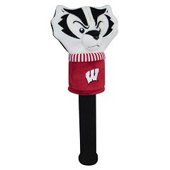 Team Effort Wisconsin Badgers Mascot Sock Driver Headcover
