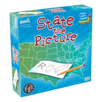 State The Picture Board Game by Briarpatch