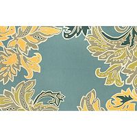 Trans Ocean Imports Liora Manne Ravella Ornamental Leaf Border Indoor Outdoor Rug