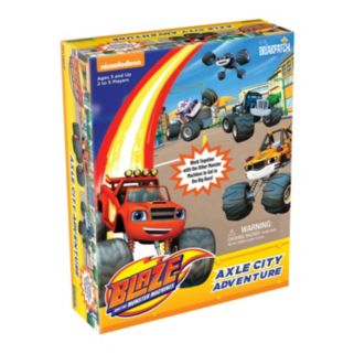 Blaze & The Monster Machines Axle City Adventure Game by Briarpatch