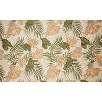 Trans Ocean Imports Liora Manne Ravella Tropical Leaf Indoor Outdoor Rug