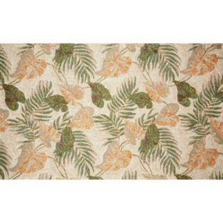 Liora Manne Ravella Tropical Leaf Indoor Outdoor Rug