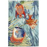Liora Manne Ravella Tropical Fish Indoor Outdoor Rug