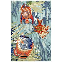 Trans Ocean Imports Liora Manne Ravella Tropical Fish Indoor Outdoor Rug