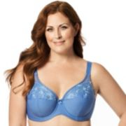 Elila Bra: Embroidered Full-Figure Bra 2401