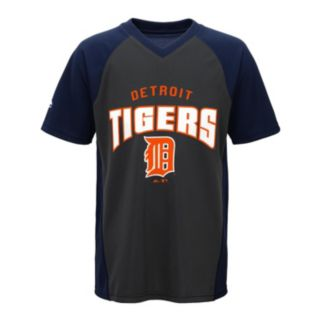 Boys 8-20 Majestic Detroit Tigers Bottom of the 9th Synthetic Tee