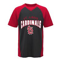 Boys 8-20 Majestic St. Louis Cardinals Bottom of the 9th Synthetic Tee
