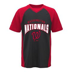 Boys 8-20 Majestic Washington Nationals Bottom of the 9th Synthetic Tee