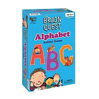 Brain Quest Alphabet Letter Game by University Games
