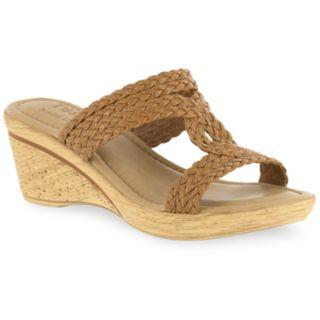 Tuscany by Easy Street Loana Women's Wedge Sandals