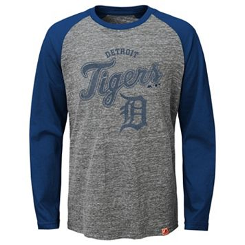 Boys 8-20 Majestic Detroit Tigers Fast Win Raglan Tee
