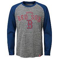 Boys 8-20 Majestic Boston Red Sox Fast Win Raglan Tee
