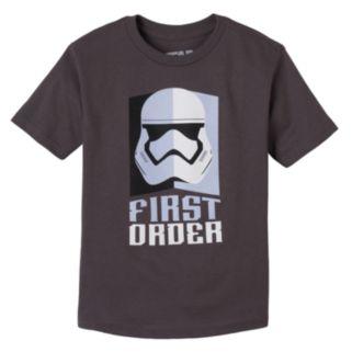 Toddler Boy Star Wars: Episode VII The Force Awakens Stormtrooper Tee