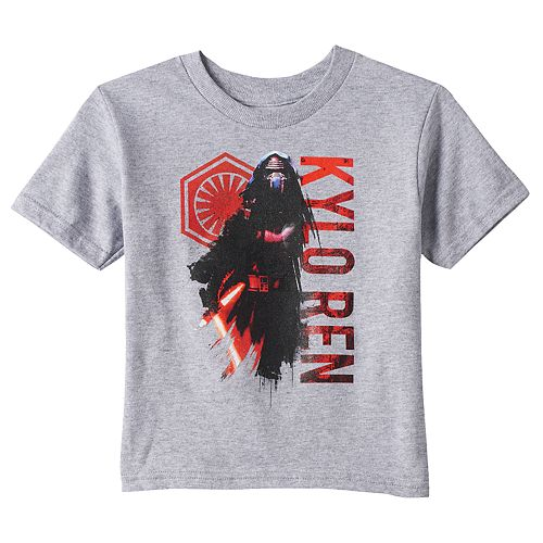 Toddler Boy Star Wars: Episode VII The Force Awakens Kylo Ren Tee