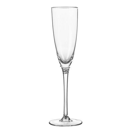 Qualia Glass Helix Platinum 4-pc. Champagne Flute Set