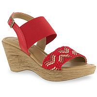 Tuscany by Easy Street San Remo Women's Wedge Sandals