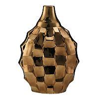 Elements Rippled Ceramic Vase