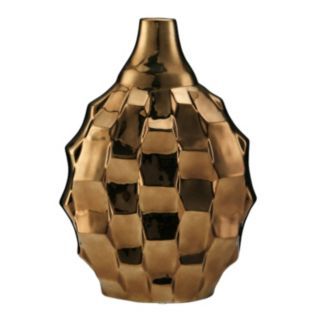 Elements Rippled Ceramic Vase
