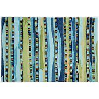 Trans Ocean Imports Liora Manne Ravella Fiesta Striped Indoor Outdoor Rug