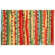 Liora Manne Ravella Fiesta Striped Indoor Outdoor Rug
