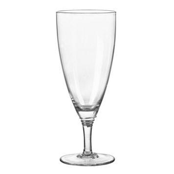 Qualia Glass Helix Platinum 4-pc. Iced Tea Glass Set