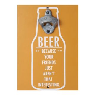Elements Friends Magnetic Wall Bottle Opener