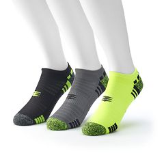 Men's Powersox by GOLDTOE 3-pack No-Show Socks