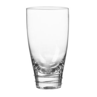 Qualia Glass Helix Platinum 4-pc. Highball Glass Set