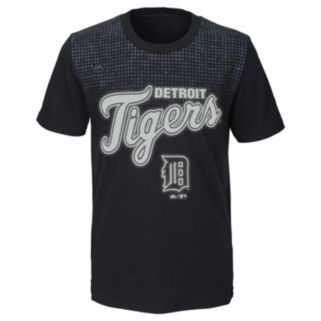 Boys 8-20 Majestic Detroit Tigers Night Game Tee