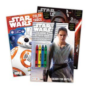 Star Wars: Episode VII The Force Awakens Color & Activity Bundle