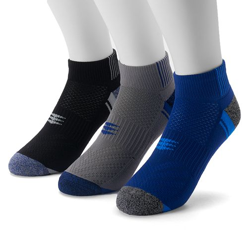 Men's Powersox by GOLDTOE 3-pack Low-Cut Socks