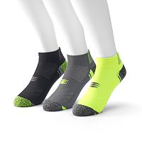 Men's PowerSox by GOLDTOE 3-Pack Low Cut Socks
