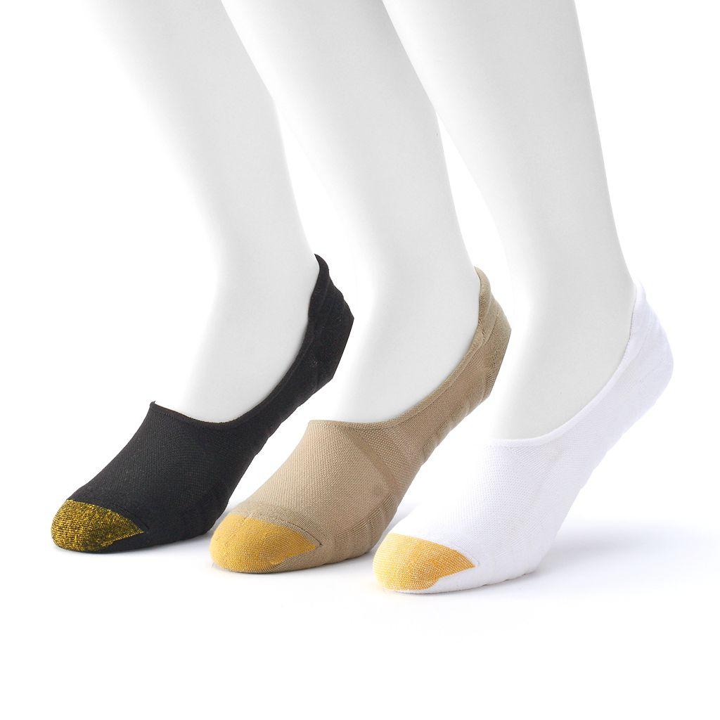 Men's GOLDTOE 3-Pack Liner Socks
