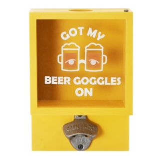 Elements Goggles Wall Bottle Opener