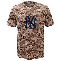 Boys 8-20 Majestic New York Yankees Camo Cool Base Performance Tee