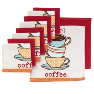 """The Big One® """"But First, Coffee"""" Dish Towels - 10-pk."""