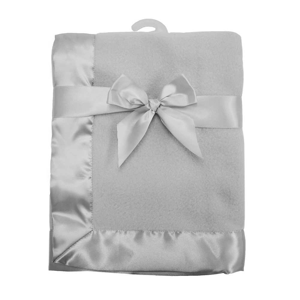 TL Care Satin Trim Fleece Blanket
