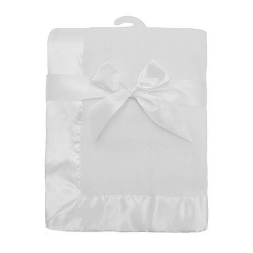 TL Care Satin Trim Fleece Blanket