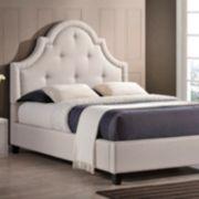 Baxton Studio Colchester Modern Platform Bed