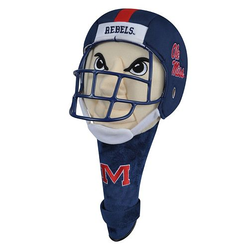 Team Effort Ole Miss Rebels Mascot Driver Headcover
