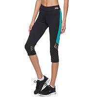 Women's FILA SPORT® Zion Capri Running Tights