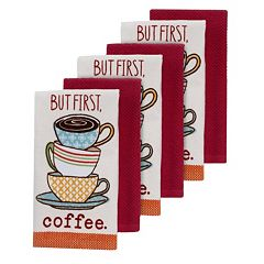 The Big One®'But First, Coffee' Kitchen Towels - 6-pk.