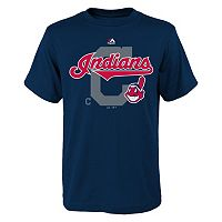 Boys 8-20 Majestic Cleveland Indians Real Gem Tee