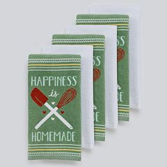 The Big One® 'Happiness is Homemade' Kitchen Towels - 6-pk.