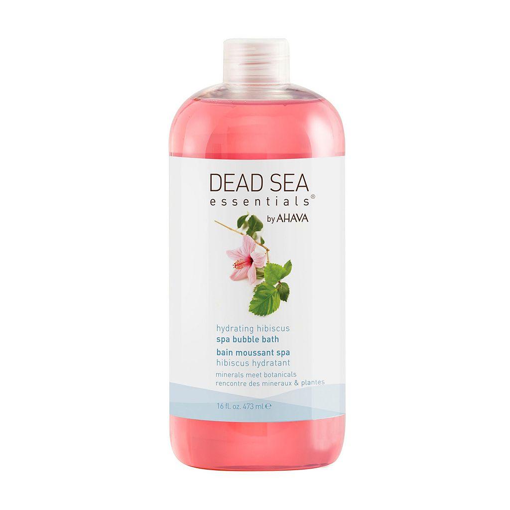 Dead Sea Essentials by AHAVA Hibiscus Spa Bubble Bath & Shower Gel